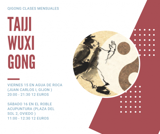 IQIGONG CLASES MENSUALES